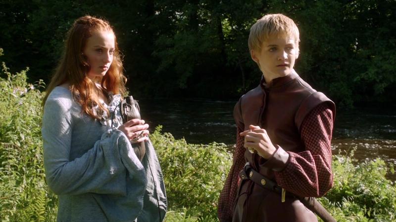 Joff & Sansa