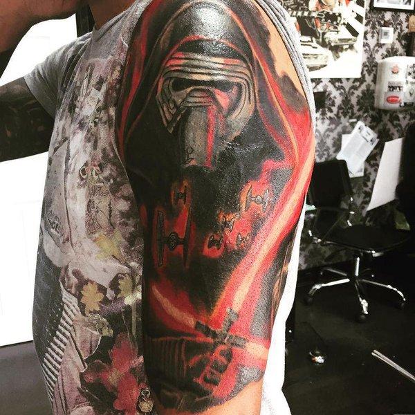 Kylo Ren Tattoo