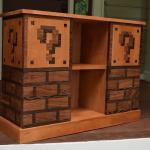 Mario Themed Bookcase furniture
