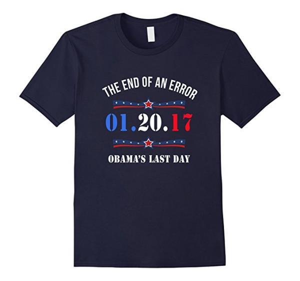 Obama's Last Day T-Shirt