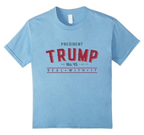 President Donald Trump Deal With it T-Shirt