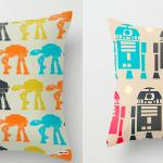 R2D2 & AT-AT retro style Star Wars Pillow Cases