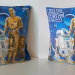 Recycled Vintage 80s Star Wars Pillow Cover