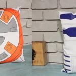 Star Wars BB8 and R2D2 The Force Awakens Decorative Pillow Cover