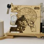 Star Wars Darth Vader Luke Skywalker Stand Star Wars Home Decor