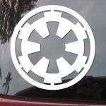 Star Wars Galactic Empire Car Decal