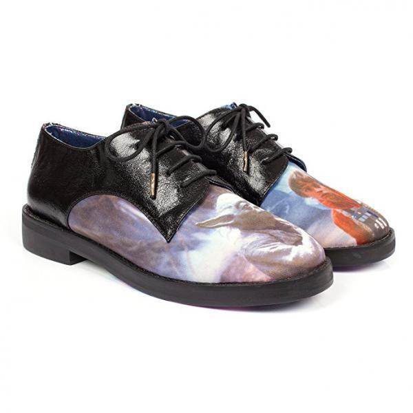 Star Wars Yoda & Luke Oxford Shoes
