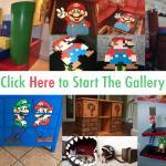 Super Mario Inspired Furniture