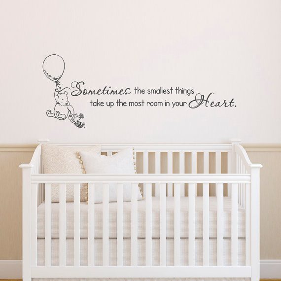 Sweet Winnie the Pooh Quote Wall Decal