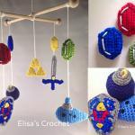 The Legend of Zelda Nintendo Crochet Nursery Mobile
