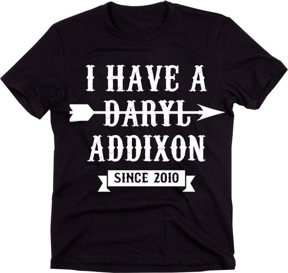 The Walking Dead Daryl Addixon T-Shirt