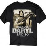 The Walking Dead 'Daryl Said' T-Shirt