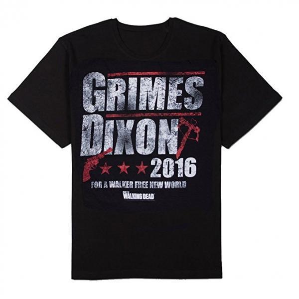 The Walking Dead Grimes Dixon for President T-Shirt