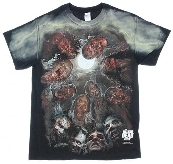 The Walking Dead Horror under the Moonlight T-Shirt