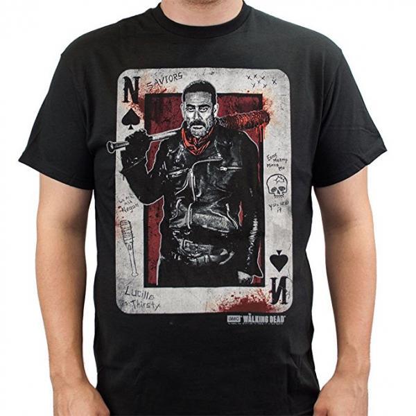 The Walking Dead Negan Card T-Shirt
