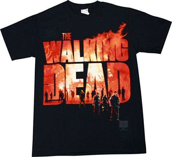 The Walking Dead On Fire T-Shirt