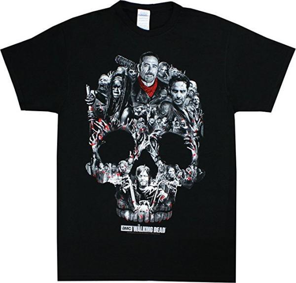 The Walking Dead Skull T-Shirt