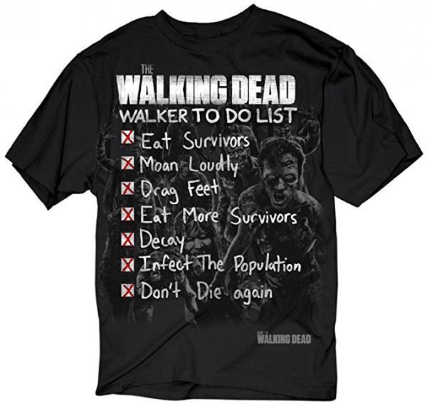 The Walking Walker to-do List T-Shirt