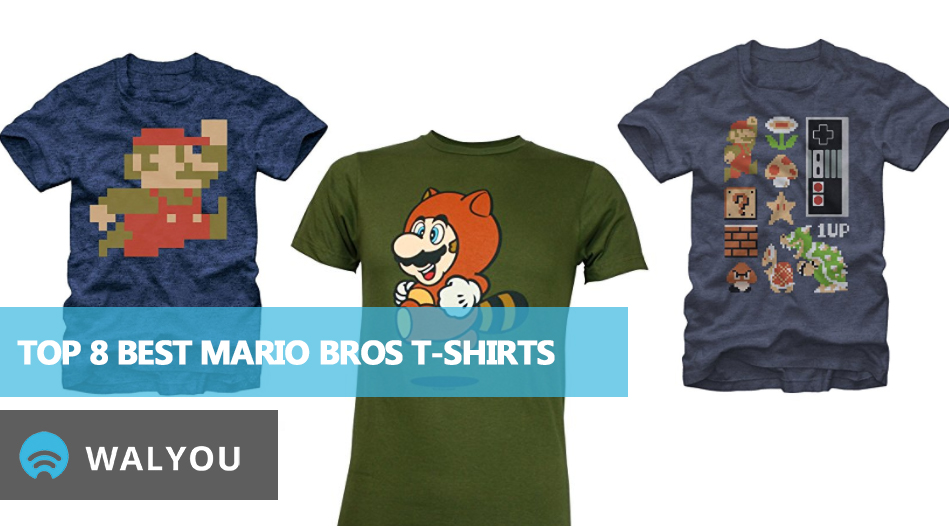 top-8-best-mario-bros-t-shirts