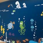 Underwater Playroom Wall Decal