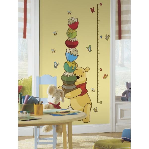 Winnie the Pooh Height Measure Wall Decal
