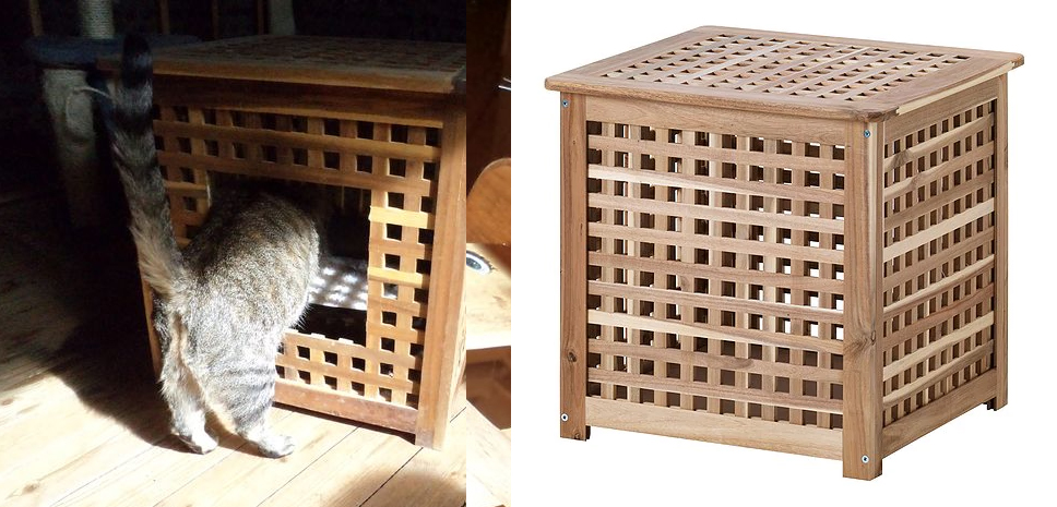 IKEA Hack Cat Hangout