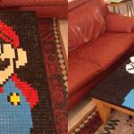 Super Mario Mosaic Table