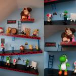 Super Luca Nintendo Room – Donkey Kong Shelves