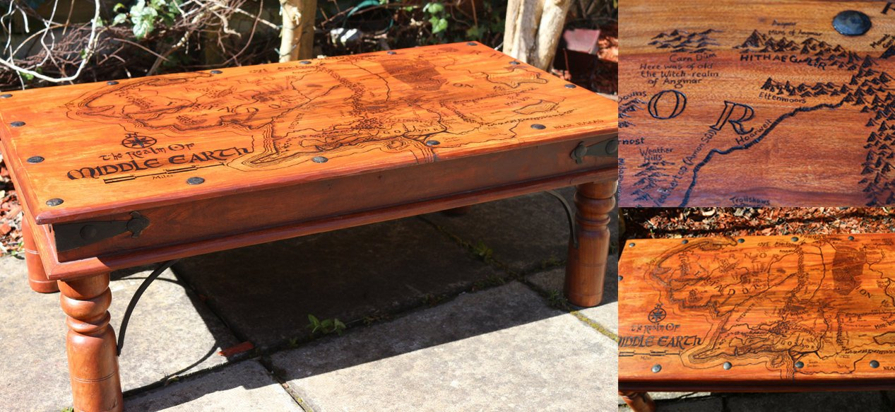 Lord Of The Rings Coffee Table
