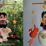 Harry Potter Baby Crib Mobile