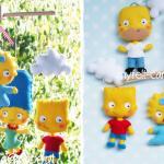 Baby Crib Mobile Simpsons