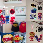 Geeky Nursery Super Heroes Mobile