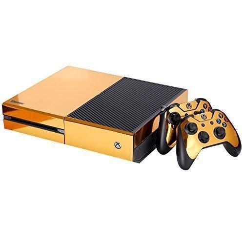 gold-vinyl-skin-xbox-one