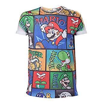 mario-bros-print-t-shirt
