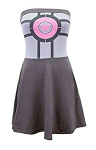 portal-companion-cube-dress