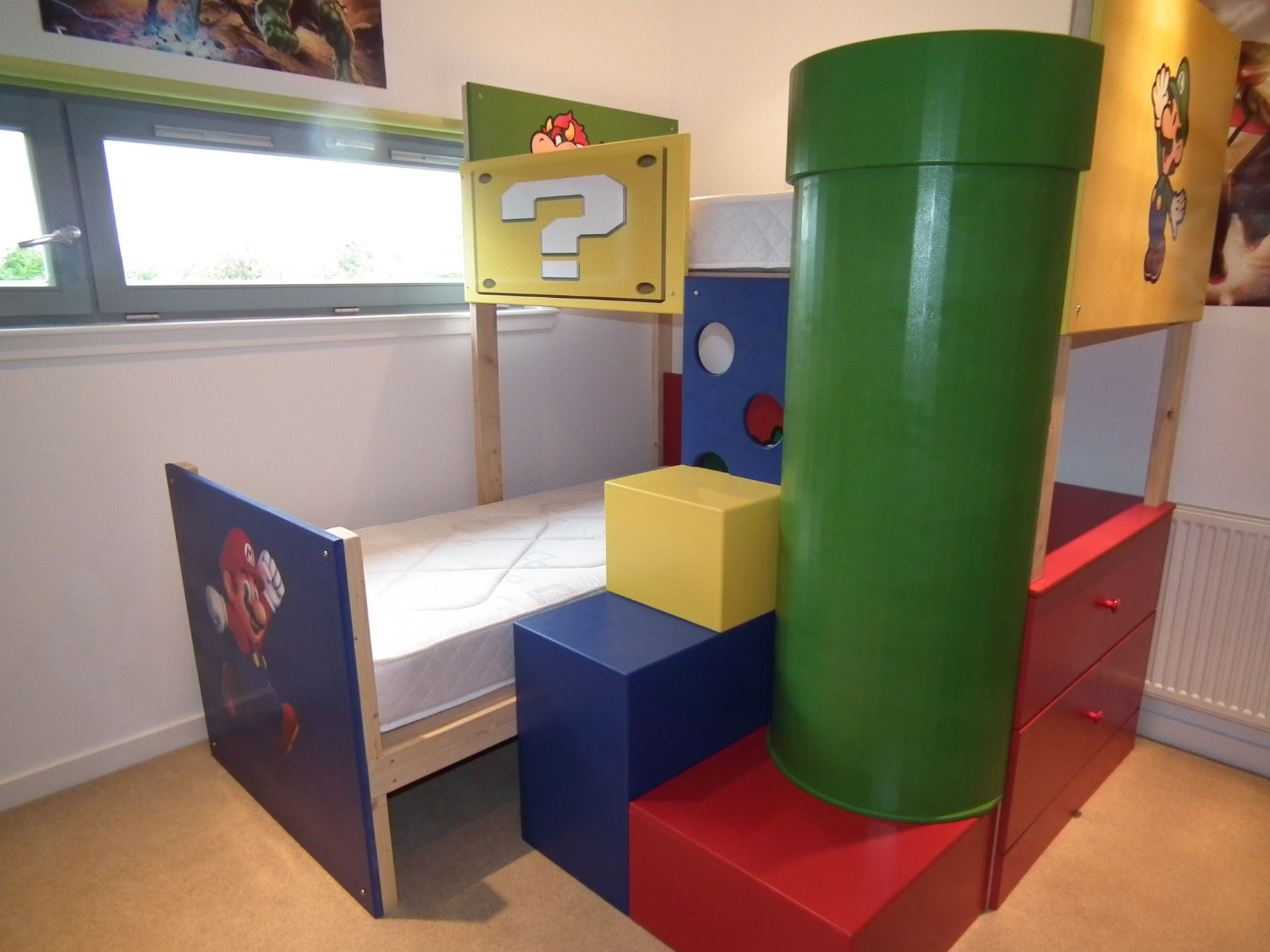 Super Mario Theme Bunk Bed