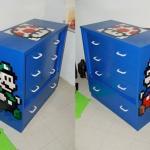 Mario & Luigi Kid's Bedroom Dresser