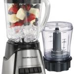 Hamilton Beach Power Elite Multi-Function Blender with Glass Jar and Chopper