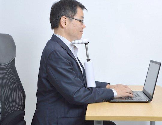 Lazy Gadgets Chin Rest Arm Office posture gadget