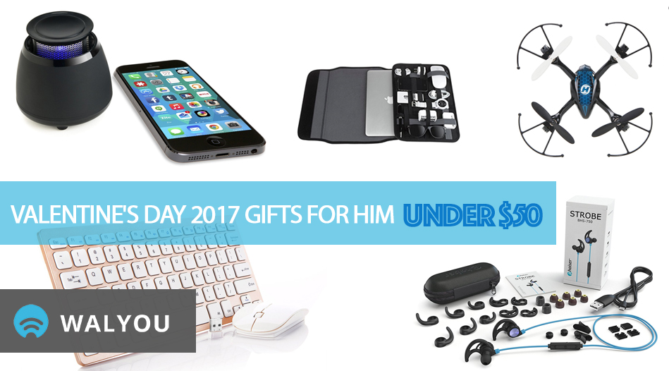 c60b8cdcbf4f7 10 Best Valentine s Day 2017 Gift Ideas for Him Under  50 - Walyou