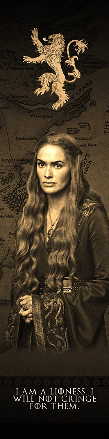 Game of Thrones Cersei Lannister Bookmark