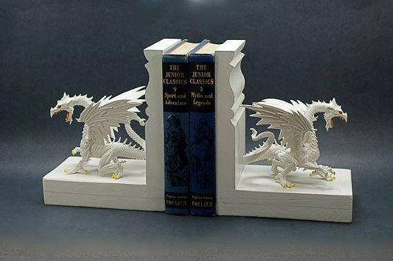 Game of Thrones Direwolves Bookend