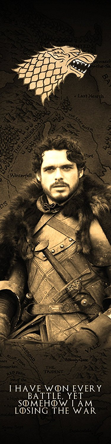 Game of Thrones Robb Stark Bookmark