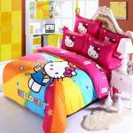 Hello Kitty Rainbow Bed Sheets