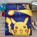 Pikachu Bedding Set For Boys