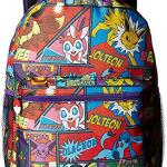 Pokemon 16 Comic Eevee Backpack Pokeball Notebook Eevee Water Bottle