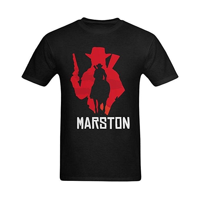 Red Dead Redemption John Marston Silhouette T-Shirt