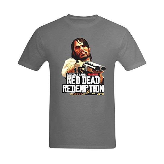 Red Redemption Rockstar Games T-Shirt