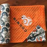 Star Wars Minky Blanket BB8 Blanket