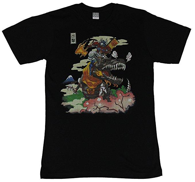 Transformers Optimus Prime & Grimlock T-Shirt